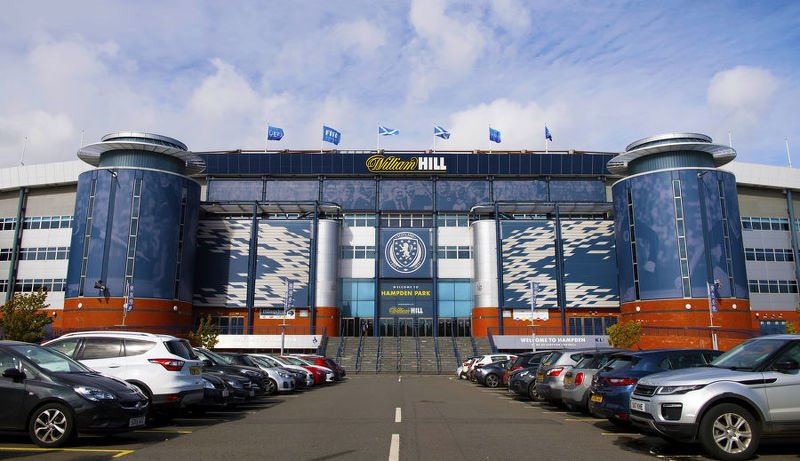 The SFA has decided to remain at Hampden Park rather than move to Murrayfield in Edinburgh