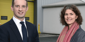 Colin Campbell and Petra Grandinson
