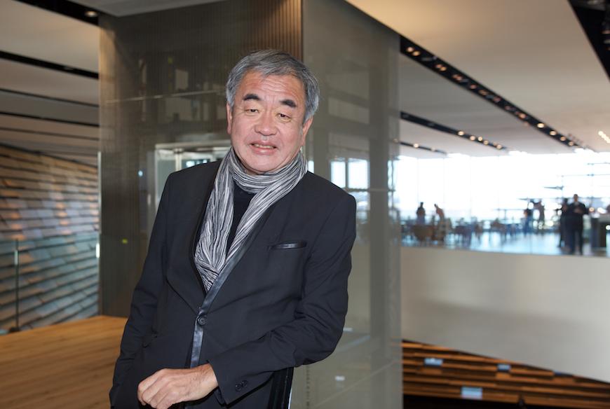 Kengo Kuma V&A Dundee architect