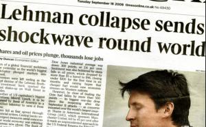 Lehman crash