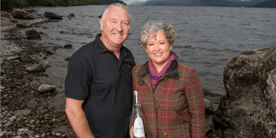 Lorien and Kevin Cameron-Ross, Loch Ness Gin