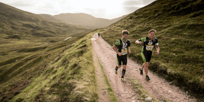 Rat Race runners Arran