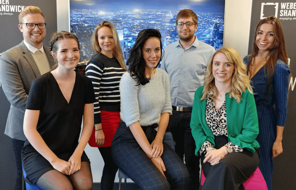 weber shandwick recruits