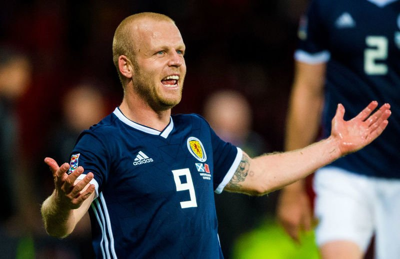 Steven Naismith is set to benefit from Leigh Griffiths' absence from the Scotland set-up