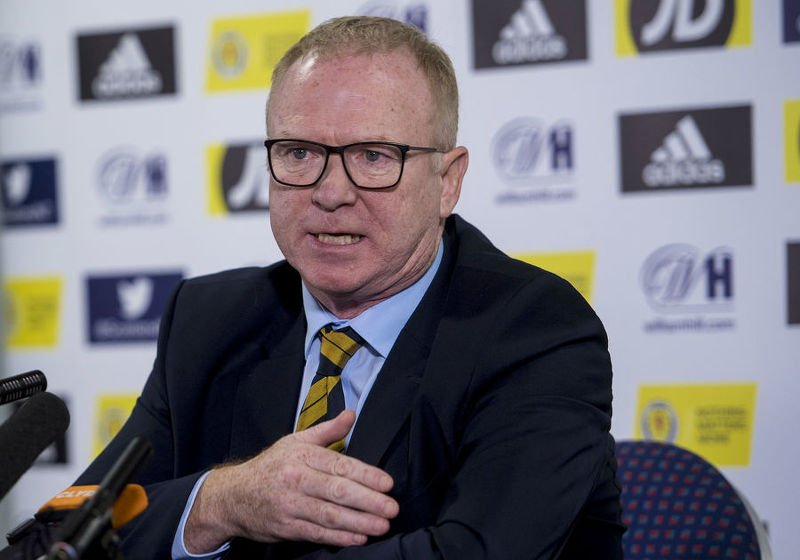 Alex McLeish will have to back to the drawing board after Israel defeat
