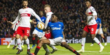 It was a frustrating night for Rangers against Spartak Moscow at Ibrox
