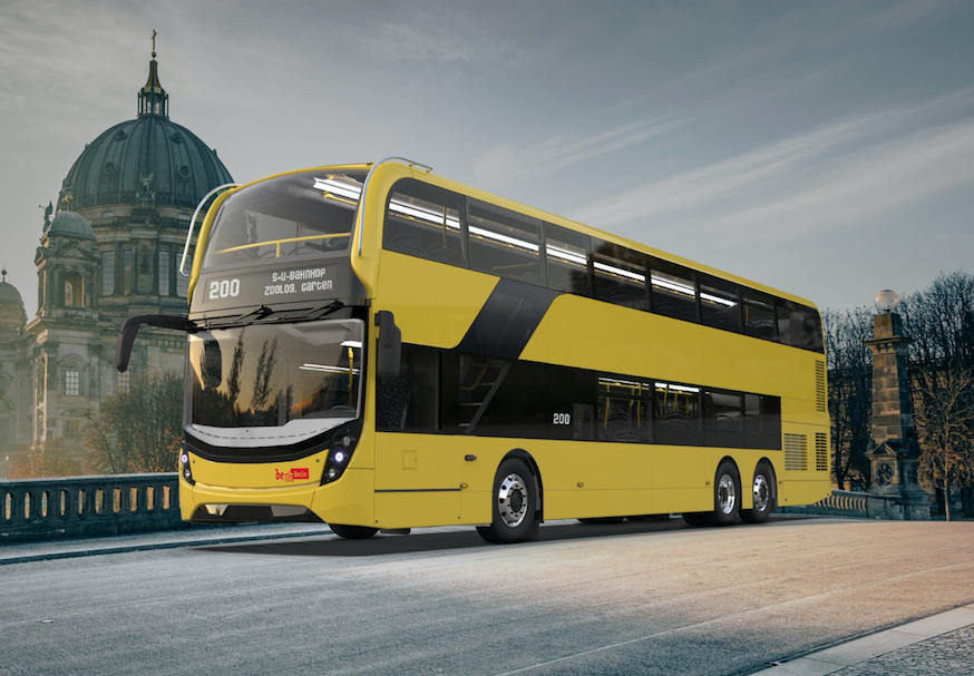 Alexander Dennis Enviro500 bus Berlin