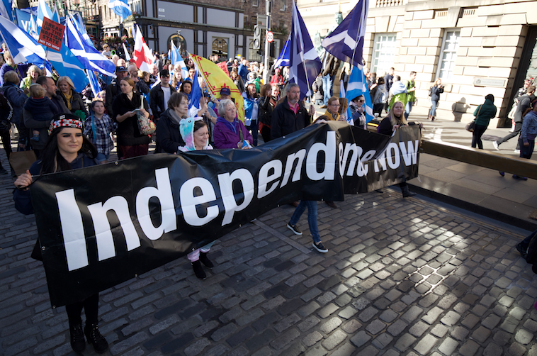 All Under One Banner Scottish independence