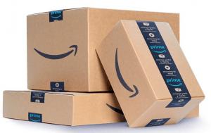 Amazon parcels - Amazon website