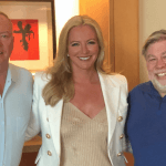 Doug Barrowman, Michelle Mone,Steve Wozniak pic EquiGlobal