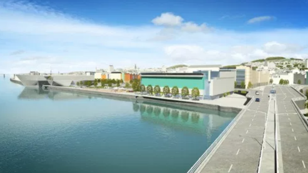 Dundee waterfront development