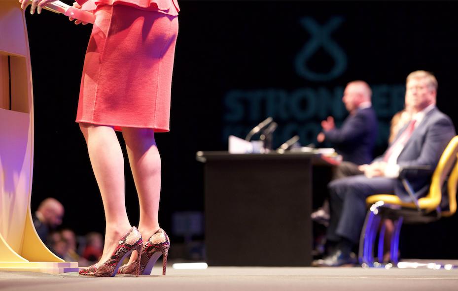 Nicola Sturgeon shoes