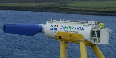 Nova Innovation tidal power in Shetland