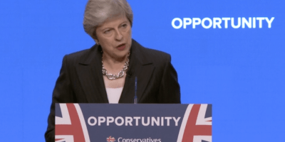 Theresa May at Birmingham