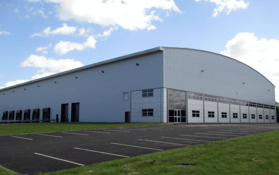 Titan industrial unit Eurocentral