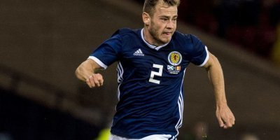 Ryan Fraser scored his first goal for Scotland against Albania