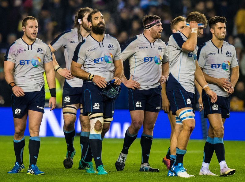 Scotland battled well against South Africa but went down 26-20 at Murrayfield