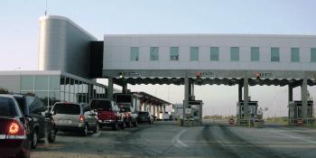 Border station: pic Mediaworks