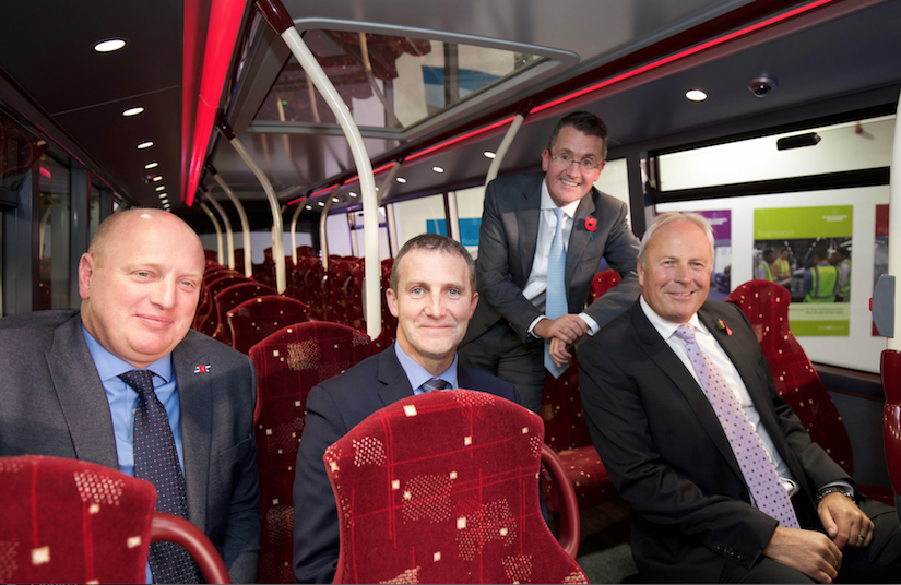 Bus launch Alexander Dennis