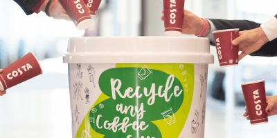 Edinburgh airport recycling