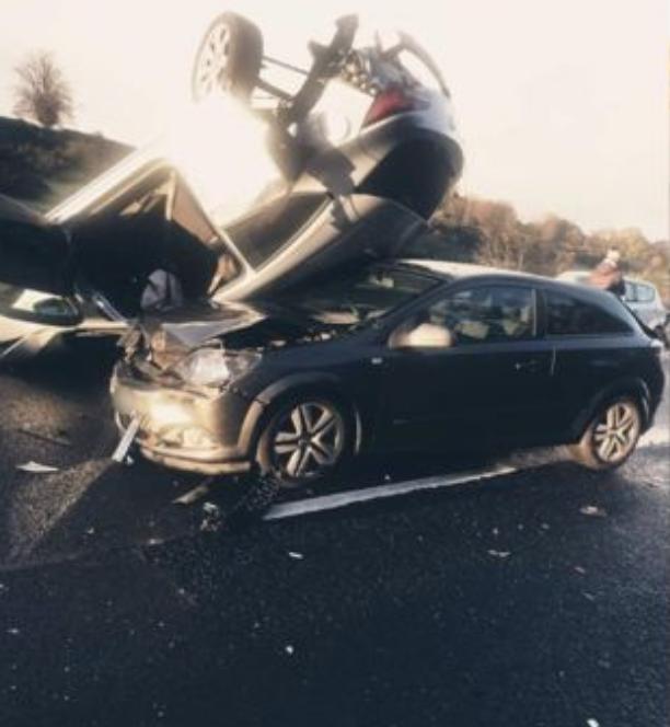 M8 crash Inverclyde Roadwatch
