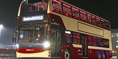 New Lothian bus - Alexander Dennis