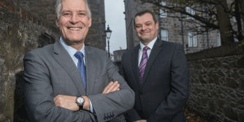 Scott Kerr, CEO of Mintra Group (L) and Gareth Gilbert, UK Managing Director, Mintra Group