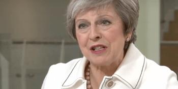 Theresa May on Sky News