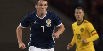 Scotland lost 4-0 to Belgium in a friendly in September