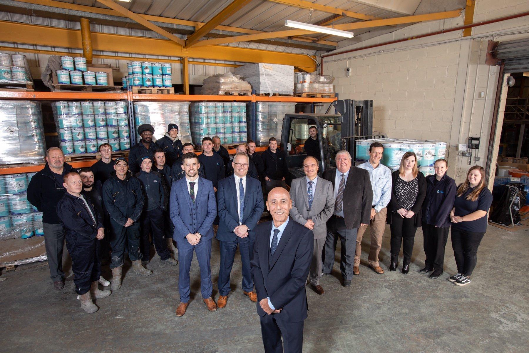 Chemco International, Coatbridge, has moved into employee ownership