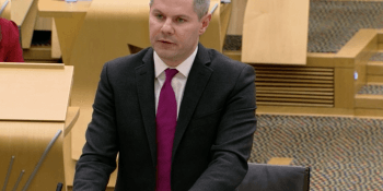 Derek Mackay delivers budget 12 Dec