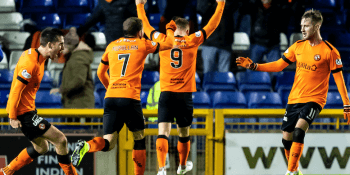 Dundee United players