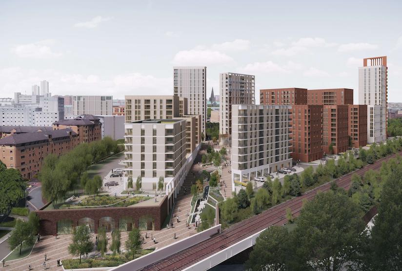 High Street development Glasgow