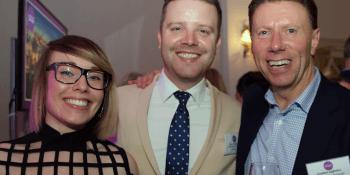 Laura Henry,Rory Archibald and Stephen Ingledew