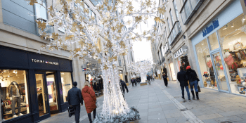 Multrees Walk, shop, retail, Edinburgh