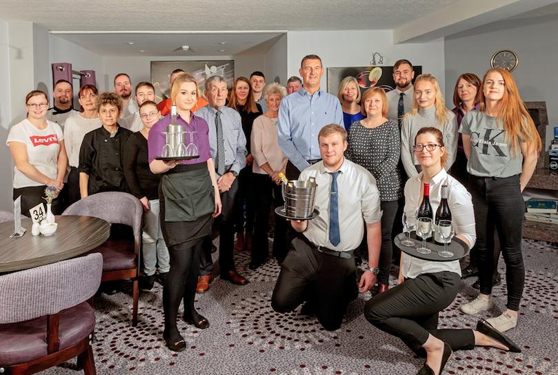Priory Hotel staff