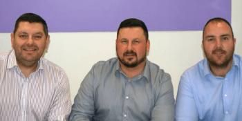 Stephen Currie, John Easton, Michael Hewitt