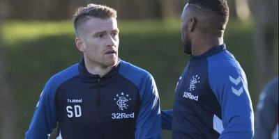 Jermain Defoe and Steven Davis will have to wait for their Rangers debut after cup-tie postponed