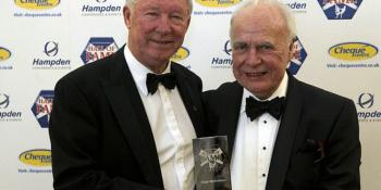 Alex Ferguson and Hugh McIlvanney