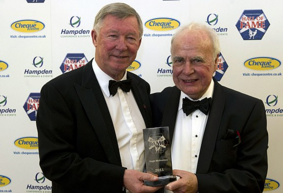 Alex Ferguson and Hugh McIlvanney