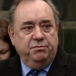 Alex Salmond outside court