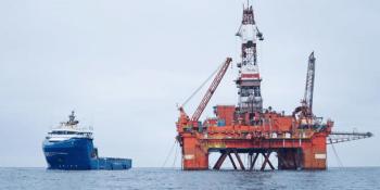 Faroe Petroleum rig