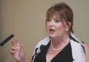 Fiona Hyslop speaking