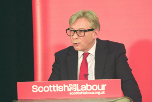 Richard Leonard in Airdrie