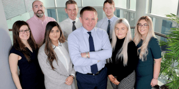 Tony March with new staff at Wave
