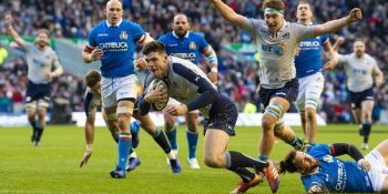 Blair Kinghorn has been dropped despite his hat-trick v Italy