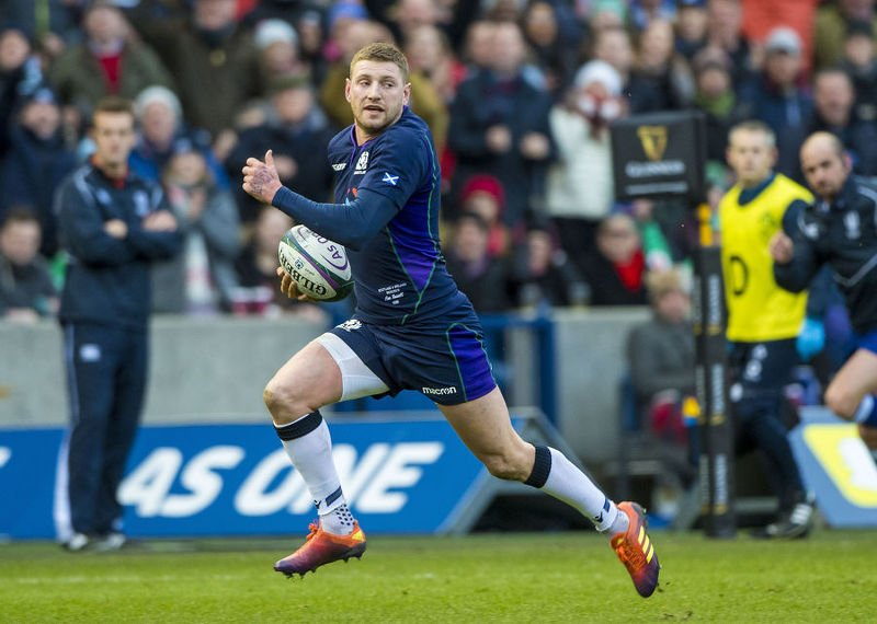 Finn Russell's head knock is causing concern