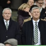 Ian Bankier and Peter Lawwell of Celtic