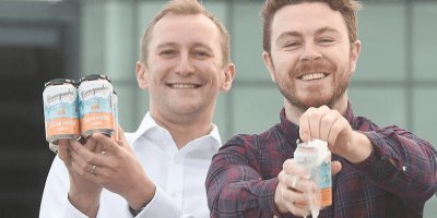 Alastair Davis, CEO of SIS and Alan Mahon, Founder of Brewgooder