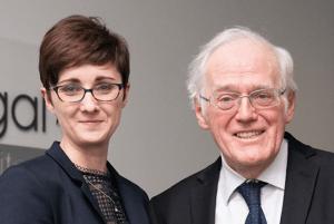 Kelly Matthews and Peter Aitken